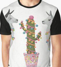 llamas Graphic T-Shirt