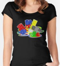 Toy Melt Women's Fitted Scoop T-Shirt