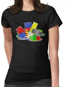 Toy Melt Womens Fitted T-Shirt