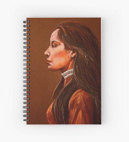 Raven Detail #2 Spiral Notebook