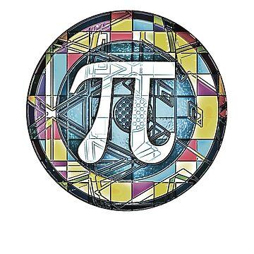 Pi Day Symbol 3.14 by MudgeStudios