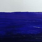 Painting of water in acrylic on canvas by Brooke Simpson
