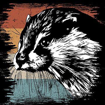 Otter dwarf otter by GeschenkIdee