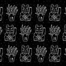 Monochrome maneki pattern by theeighth