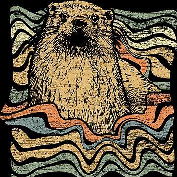Otter water by GeschenkIdee