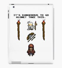 Pixelart retrogaming adventure iPad Case/Skin