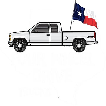 90s Chevy Truck dark colors apparel by JRLacerda