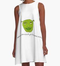 Sherk A-Linien Kleid