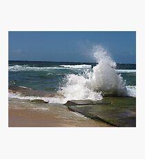 bar beach wave Photographic Print