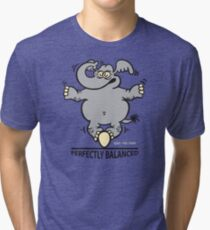 Balanced Elephant Tri-blend T-Shirt