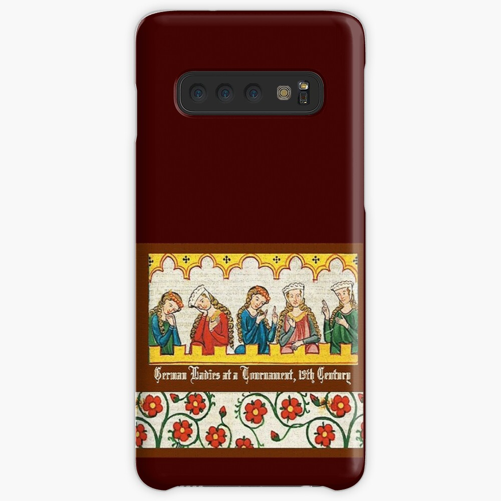 Medieval Germany, Ladies at the Tournament  Case & Skin for Samsung Galaxy