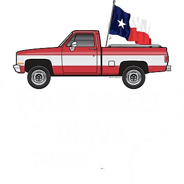 80s Chevy Truck dark colors apparel by JRLacerda