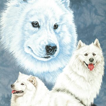 Samoyed by BarbBarcikKeith