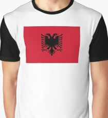 Flag of Albania Graphic T-Shirt