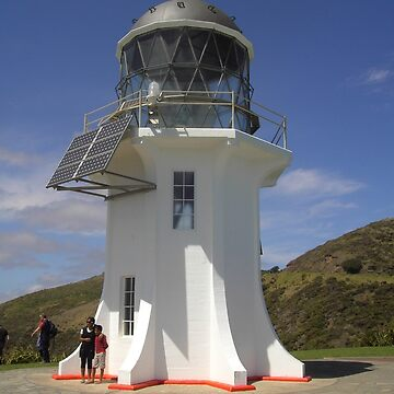 Lighthouse at Cape Reinga by lezvee