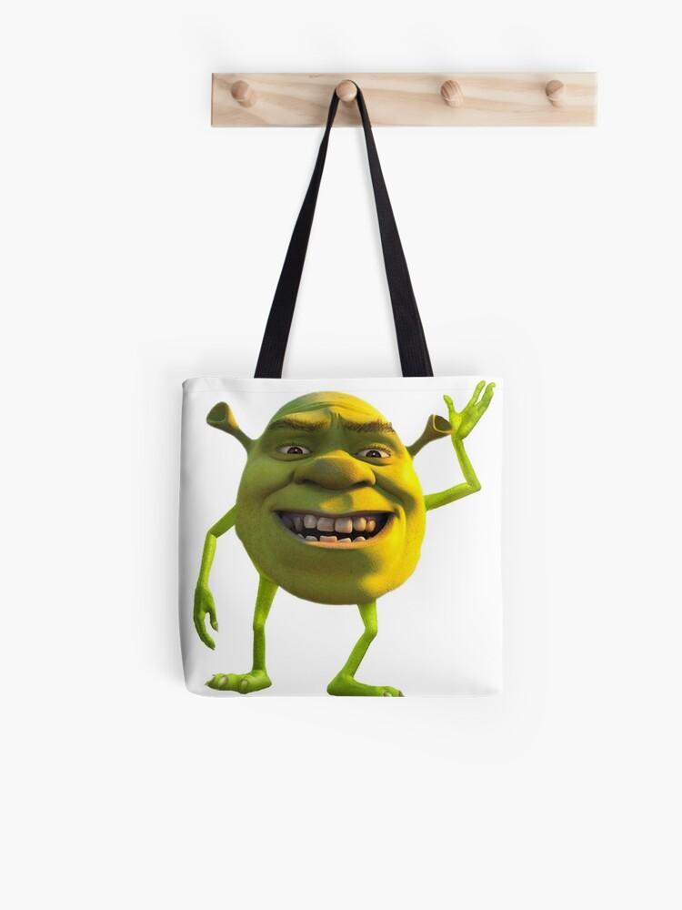 shrek mike wazowski meme | Tote Bag
