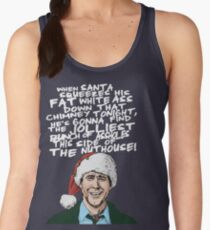Griswold alternative Christmas card Women's Tank Top