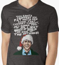 Griswold alternative Christmas card Men's V-Neck T-Shirt