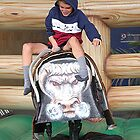 Bucking Bronco - all the fun of the fair......!! by Roy  Massicks