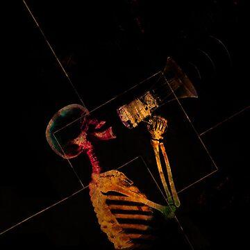 Scream skeleton  by D-Vega