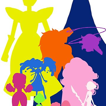 Gem Silhouettes by greeneggsandcam