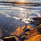 Sunrise Waves by Tibby Steedly