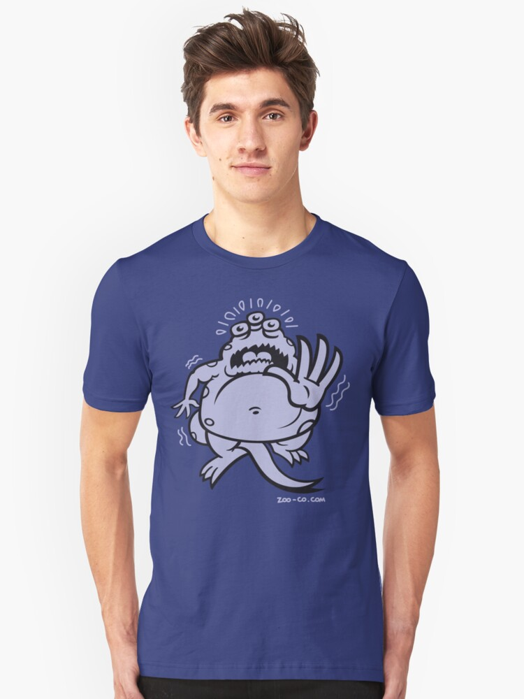 Fearful Monster! Unisex T-Shirt Front