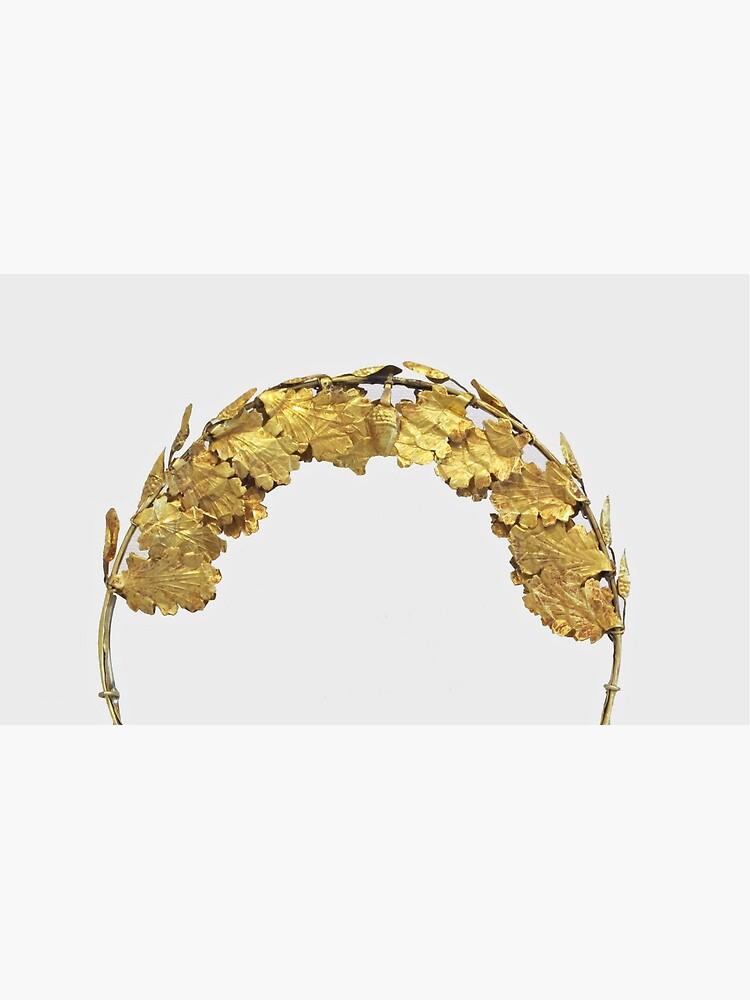 Römischer Goldener Kopfkranz (1. Jahrhundert) von BravuraMedia