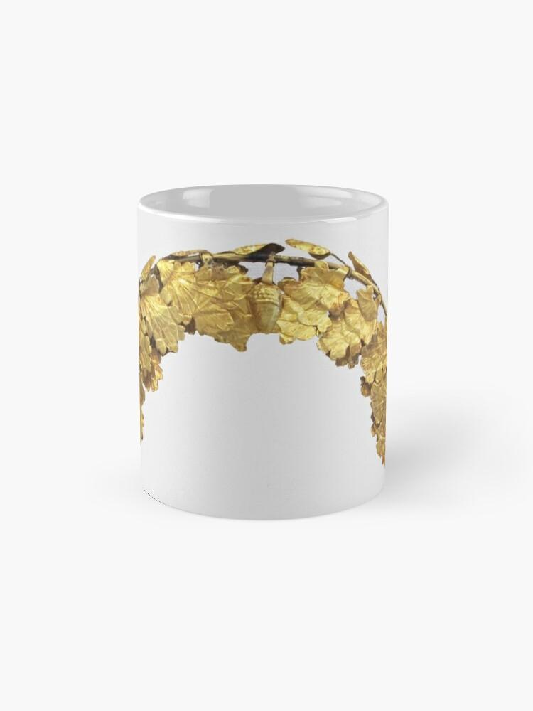 Alternative Ansicht von Römischer Goldener Kopfkranz (1. Jahrhundert) Tassen