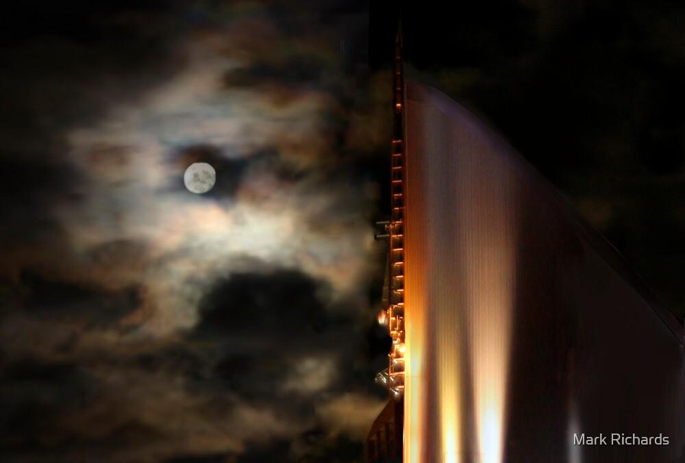 The Night Tower - The Elan, Kings Cross, Sydney, Australia by Mark Richards