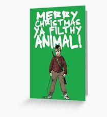 Kevin MacCallister Alternative Christmas Card Grußkarte