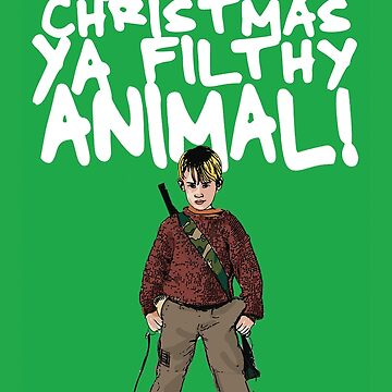 Kevin MacCallister Alternative Christmas Card by Socialfabrik
