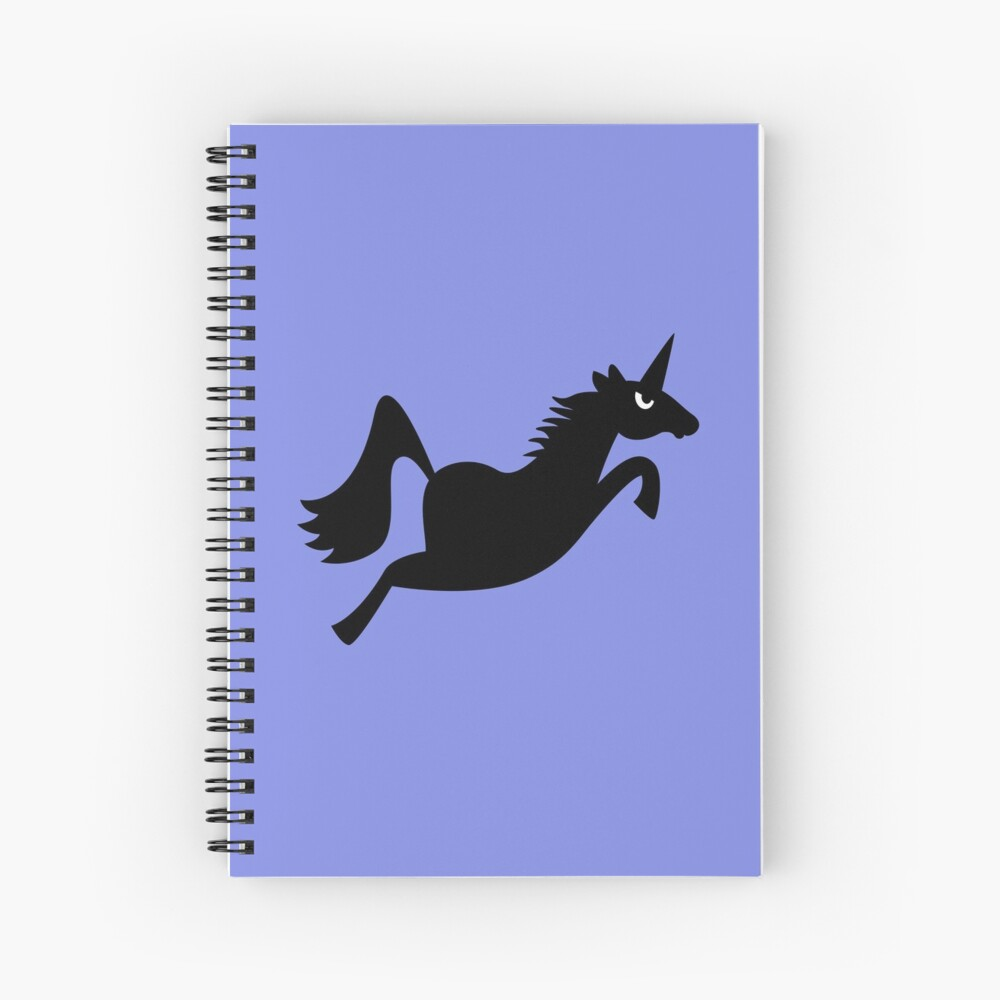 Angry Animals: Unicorn Spiral Notebook