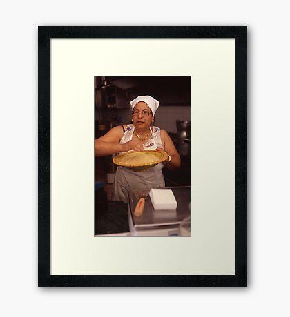 couscous lady mazzara del vallo Framed Print
