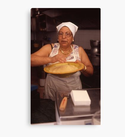 couscous lady mazzara del vallo Canvas Print