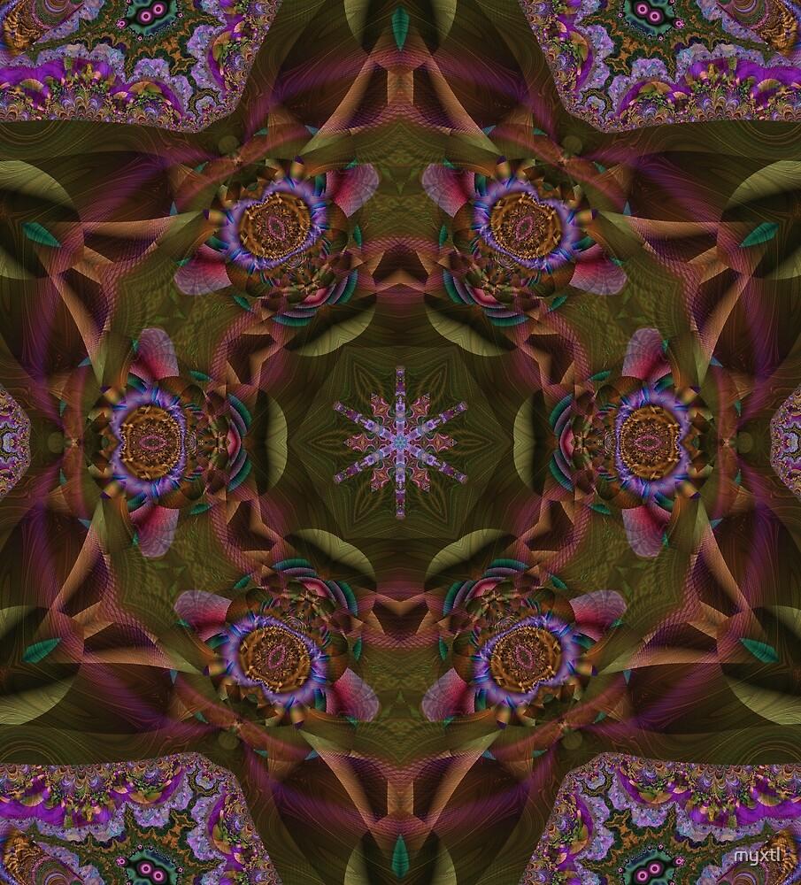 Kaleidoscope:  Garden Path by myxtl