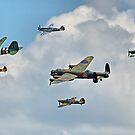 The Battle Of Britain Memorial Flight  RIAT 2018 - 1 by Colin  Williams Photography