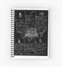 PROGRESS IN AN AGE OF DECADENCE (floor sheet) Spiral Notebook