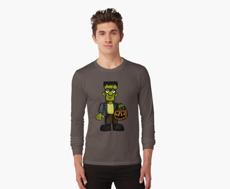 Frankenstein Trick or Treat by Wislander