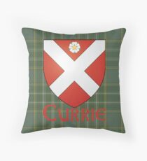 Clan Currie Throw Pillow
