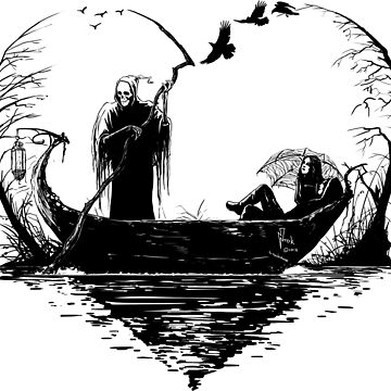 Grim Boat by Ntok