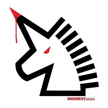 Bloody Unicorn by MIDWESTpeeps