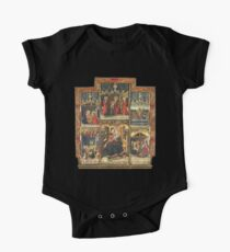 Virgin Mary Inspired Gifts |  view at The Met Gallery 305  Short Sleeve Baby One-Piece