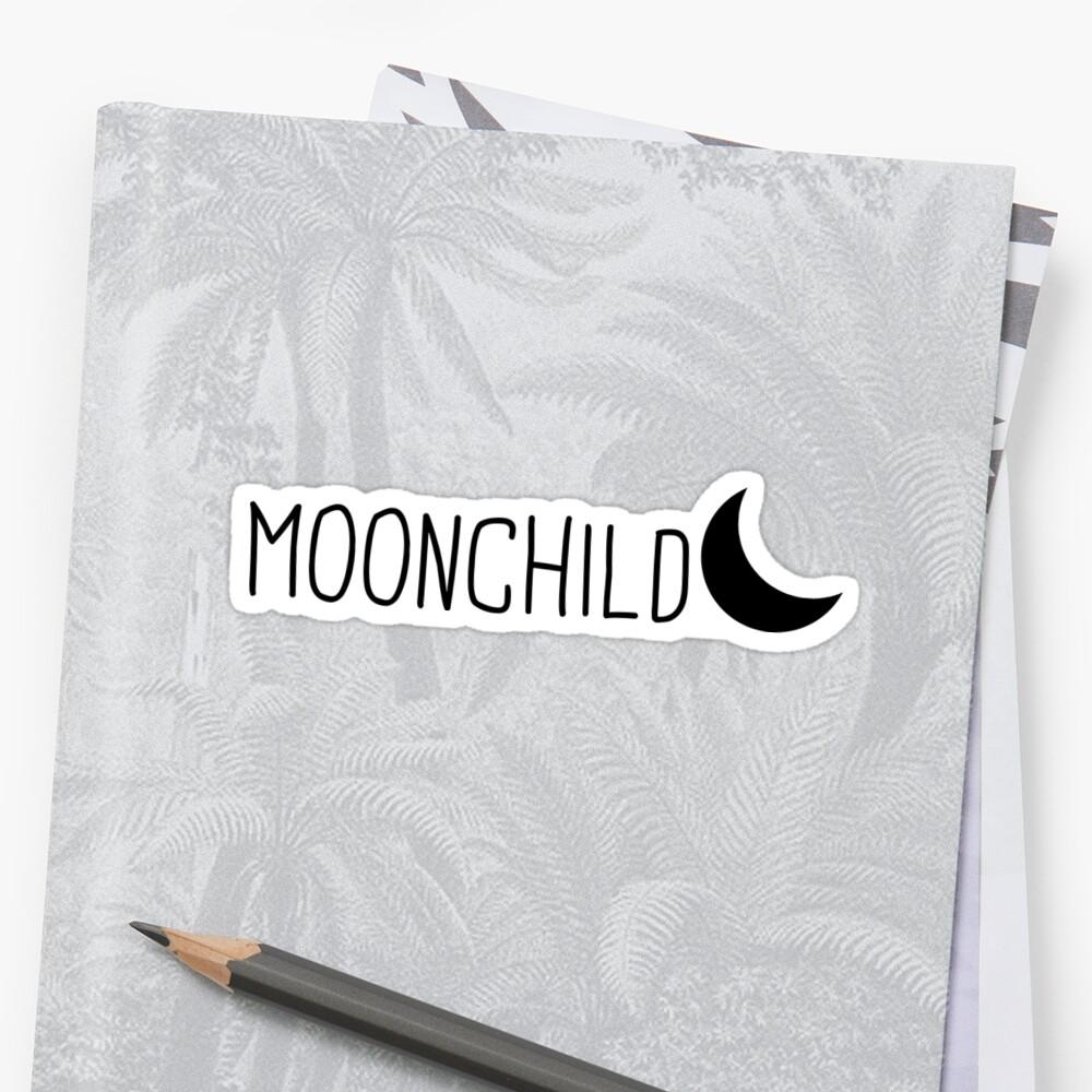 Mondkind Sticker