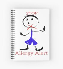 Allergy Alert Spiral Notebook