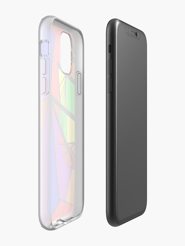 cage iphone x - Coque iPhone « Rainbow Kite », par JLHDesign