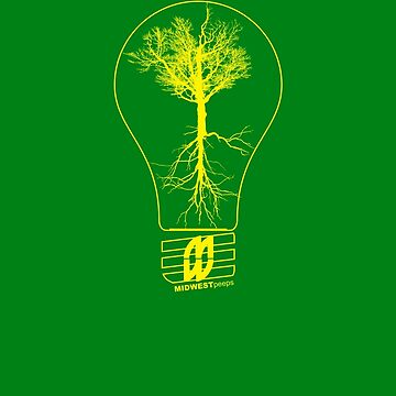 The Lightbulb Grows by MIDWESTpeeps