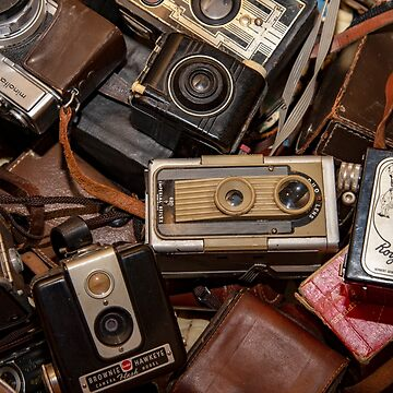 A Mess Of Old Cameras  by Gypsykiss