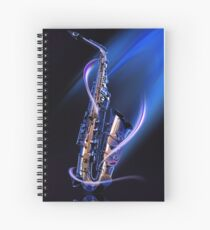 Magical Saxophone Spiral Notebook