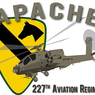 227th Aviation Rgt Apache by jcmeyer